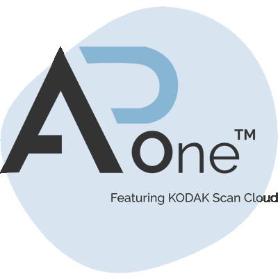 A/P One logo