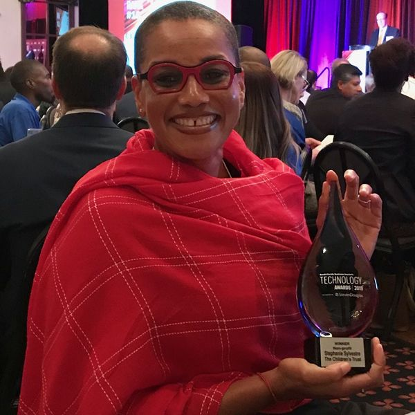Stephanie's award